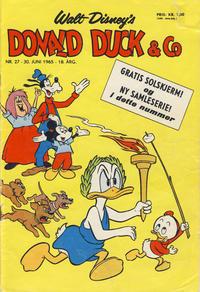 Cover Thumbnail for Donald Duck & Co (Hjemmet / Egmont, 1948 series) #27/1965