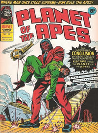 Cover Thumbnail for Planet of the Apes (Marvel UK, 1974 series) #62