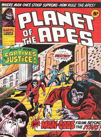 Cover Thumbnail for Planet of the Apes (Marvel UK, 1974 series) #55