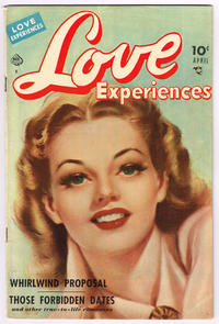 Cover Thumbnail for Love Experiences (Ace Magazines, 1949 series) #4