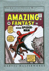 Cover Thumbnail for Marvel Masterworks: The Amazing Spider-Man (Marvel, 2002 series) #1