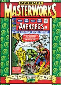 Cover Thumbnail for Marvel Masterworks: The Avengers (Marvel, 1997 series) #[1]