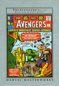 Cover Thumbnail for Marvel Masterworks: The Avengers (Marvel, 2002 series) #1