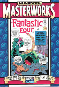 Cover Thumbnail for Marvel Masterworks: The Fantastic Four (Marvel, 1997 series) #[1]