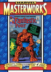 Cover Thumbnail for Marvel Masterworks: The Fantastic Four (Marvel, 1997 series) #[6]