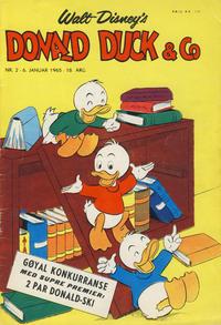 Cover Thumbnail for Donald Duck & Co (Hjemmet / Egmont, 1948 series) #2/1965