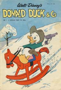 Cover Thumbnail for Donald Duck & Co (Hjemmet / Egmont, 1948 series) #1/1965