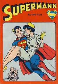 Cover Thumbnail for Supermann (Serieforlaget / Se-Bladene / Stabenfeldt, 1966 series) #2/1966