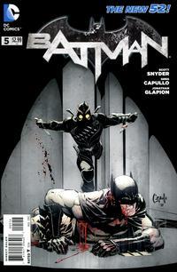 Cover Thumbnail for Batman (DC, 2011 series) #5 [Fourth Printing]