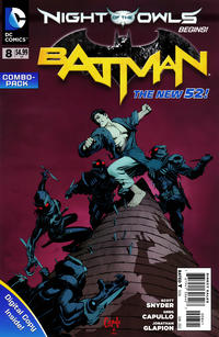 Cover Thumbnail for Batman (DC, 2011 series) #8 [Combo-Pack]