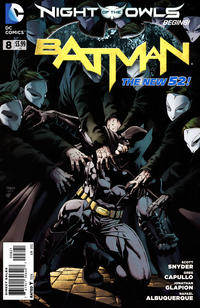 Cover Thumbnail for Batman (DC, 2011 series) #8 [Jason Fabok Cover]