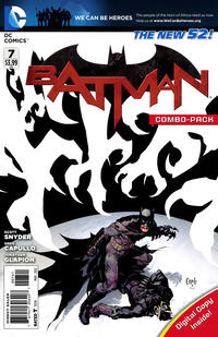 Cover Thumbnail for Batman (DC, 2011 series) #7 [Combo-Pack]