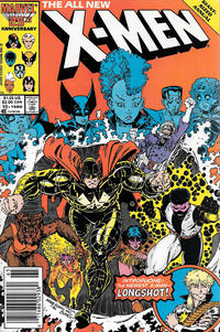 Cover Thumbnail for X-Men Annual (Marvel, 1970 series) #10 [Newsstand Edition]