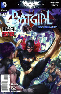 Cover Thumbnail for Batgirl (DC, 2011 series) #11