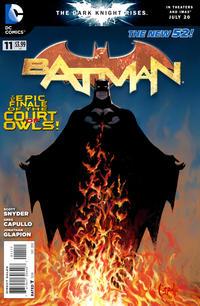 Cover Thumbnail for Batman (DC, 2011 series) #11 [Greg Capullo Cover]