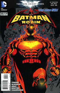 Cover Thumbnail for Batman and Robin (DC, 2011 series) #11 [Direct Sales]