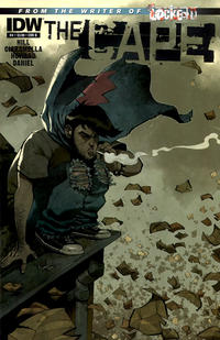 Cover Thumbnail for The Cape (IDW, 2011 series) #4 [Cover B by Nelson Daniel]