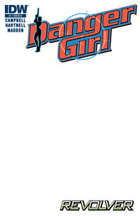 Cover Thumbnail for Danger Girl: Revolver (IDW, 2012 series) #1 [Retailer Incentive B Cover [Blank Cover]]