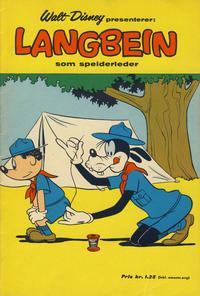 Cover Thumbnail for Walt Disney presenterer: Langbein som speiderleder (Hjemmet / Egmont, 1964 series)