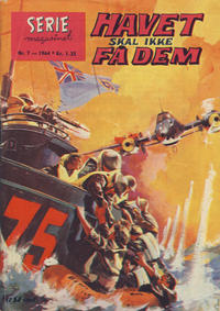 Cover for Seriemagasinet (Serieforlaget / Se-Bladene / Stabenfeldt, 1951 series) #7/1964