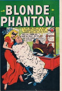 Cover Thumbnail for Blonde Phantom Comics (Bell Features, 1948 series) #22