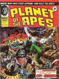 Cover Thumbnail for Planet of the Apes (Marvel UK, 1974 series) #47