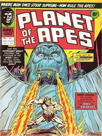 Cover Thumbnail for Planet of the Apes (Marvel UK, 1974 series) #41