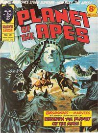 Cover Thumbnail for Planet of the Apes (Marvel UK, 1974 series) #35