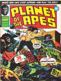 Cover Thumbnail for Planet of the Apes (Marvel UK, 1974 series) #25