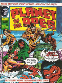 Cover Thumbnail for Planet of the Apes (Marvel UK, 1974 series) #18