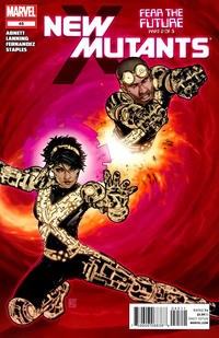 Cover Thumbnail for New Mutants (Marvel, 2009 series) #45