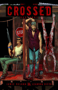 Cover Thumbnail for Crossed Badlands (Avatar Press, 2012 series) #7 [Regular Cover - Jacen Burrows]