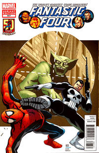 Cover Thumbnail for Fantastic Four (Marvel, 2012 series) #607 [Spider-Man in Motion Variant Cover by Khoi Pham]