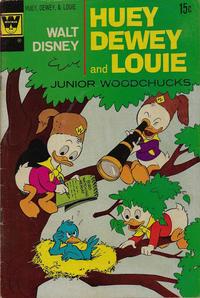 Cover Thumbnail for Walt Disney Huey, Dewey and Louie Junior Woodchucks (Western, 1966 series) #15 [Whitman]