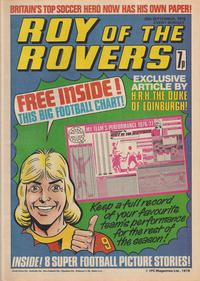 Cover Thumbnail for Roy of the Rovers (IPC, 1976 series) #25 September 1976 [1]