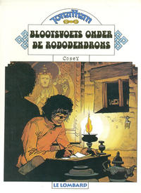 Cover Thumbnail for Jonathan (Le Lombard, 1977 series) #3 - Blootvoets onder de rododendrons [Herdruk 1997]