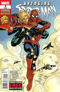 Cover for Avenging Spider-Man (Marvel, 2012 series) #9 [2nd Printing Variant]