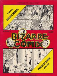 Cover Thumbnail for Bizarre Comix (Bélier Press, 1975 series) #1 - Diana's Ordeal; Perils of Diana