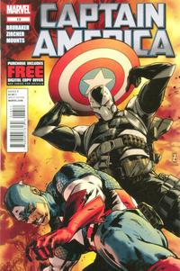 Cover Thumbnail for Captain America (Marvel, 2011 series) #13