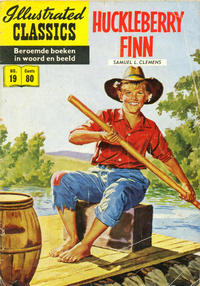 Cover Thumbnail for Illustrated Classics (Classics/Williams, 1956 series) #19 - Huckleberry Finn [HRN 32]
