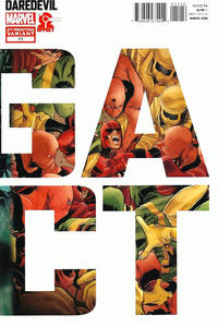 Cover Thumbnail for Daredevil (Marvel, 2011 series) #11 [2nd Printing Variant - Marco Checchetto Connecting Cover]