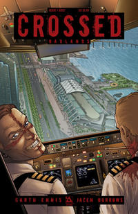Cover Thumbnail for Crossed Badlands (Avatar Press, 2012 series) #1 [2012 SDCC Exclusive Cover - Jacen Burrows]