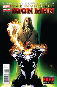 Cover Thumbnail for Invincible Iron Man (Marvel, 2008 series) #520