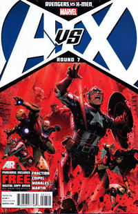 Cover Thumbnail for Avengers vs. X-Men (Marvel, 2012 series) #7