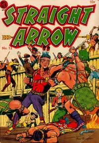 Cover Thumbnail for Straight Arrow (Magazine Enterprises, 1950 series) #12