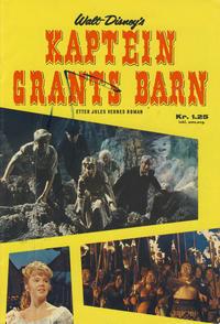 Cover Thumbnail for Walt Disney's Kaptein Grants barn (Hjemmet / Egmont, 1964 series)