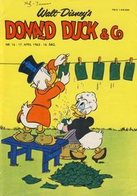 Cover Thumbnail for Donald Duck & Co (Hjemmet / Egmont, 1948 series) #16/1963