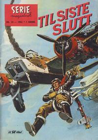Cover Thumbnail for Seriemagasinet (Serieforlaget / Se-Bladene / Stabenfeldt, 1951 series) #24/1963