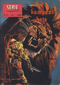 Cover Thumbnail for Seriemagasinet (Serieforlaget / Se-Bladene / Stabenfeldt, 1951 series) #23/1963