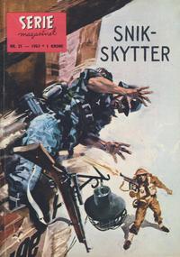 Cover Thumbnail for Seriemagasinet (Serieforlaget / Se-Bladene / Stabenfeldt, 1951 series) #21/1963